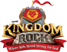 Kingdom Rock VBS Logo